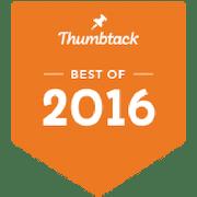 Pro Mow Best of Thumbtack 2016 Award Icon